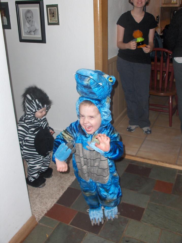 Elliott & Gavin in costume
