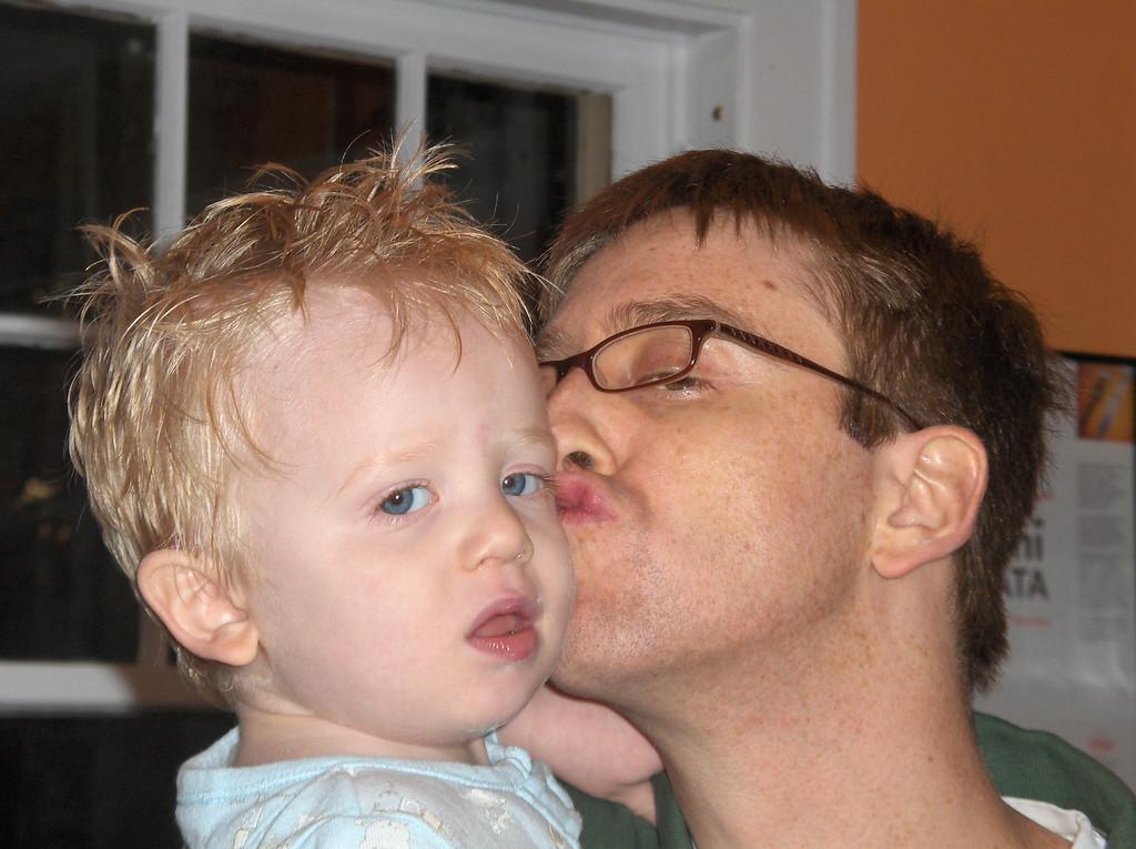 Elliott with dad