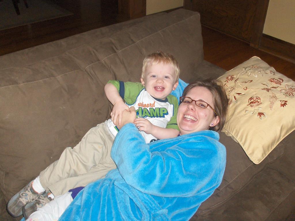 Elliott with Mom