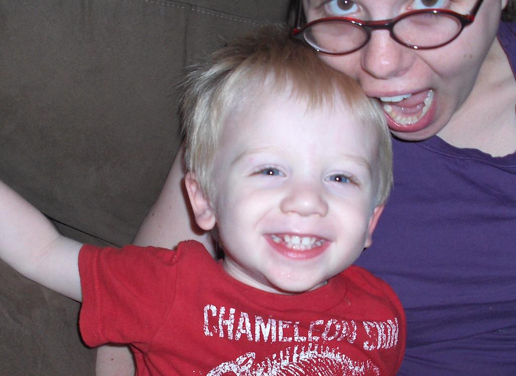 Elliott and Jenny Swenson, June 2008