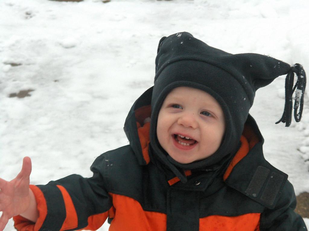 Elliott Swenson, December 2007, Aged 20 months