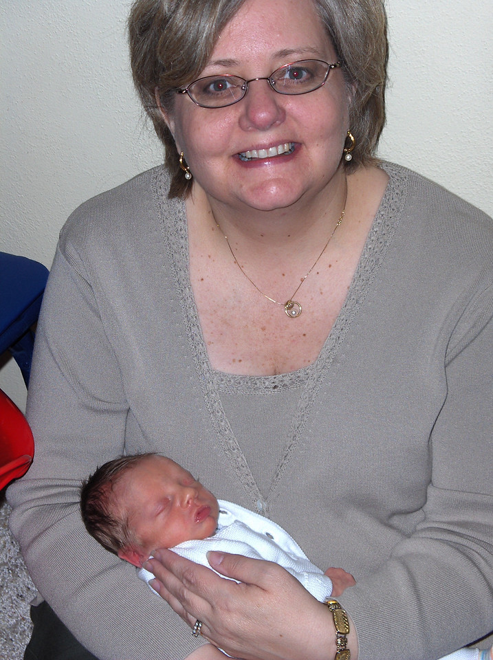 Soren Swenson with Grandmother, May 2008