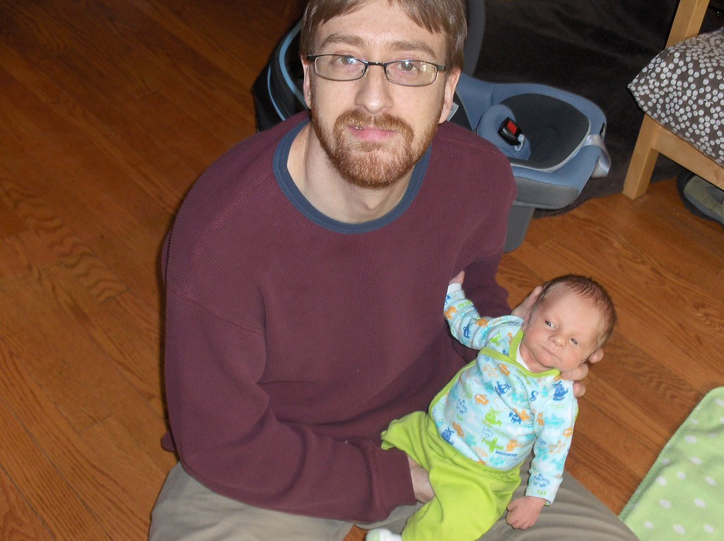 Soren Swenson with Josh, May 2008