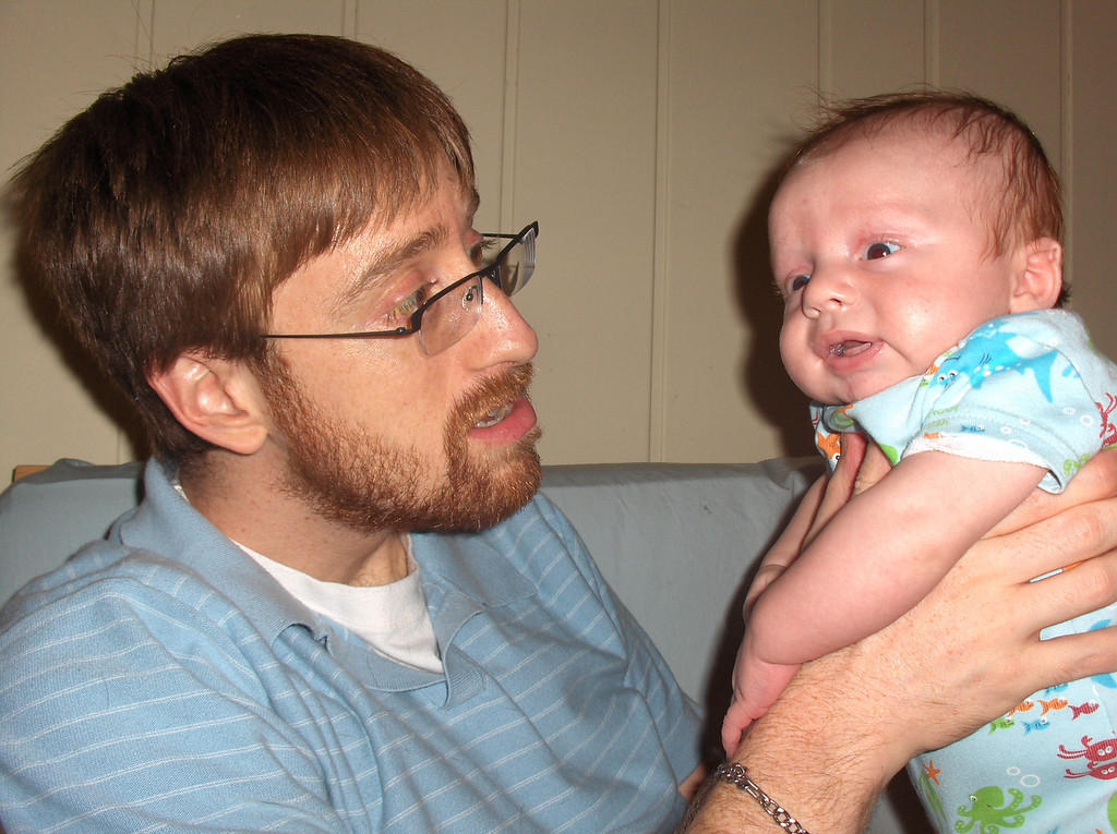 Soren and Joshua Swenson.  July 2008