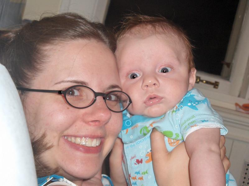 Soren and Jennifer Swenson.  July 2008