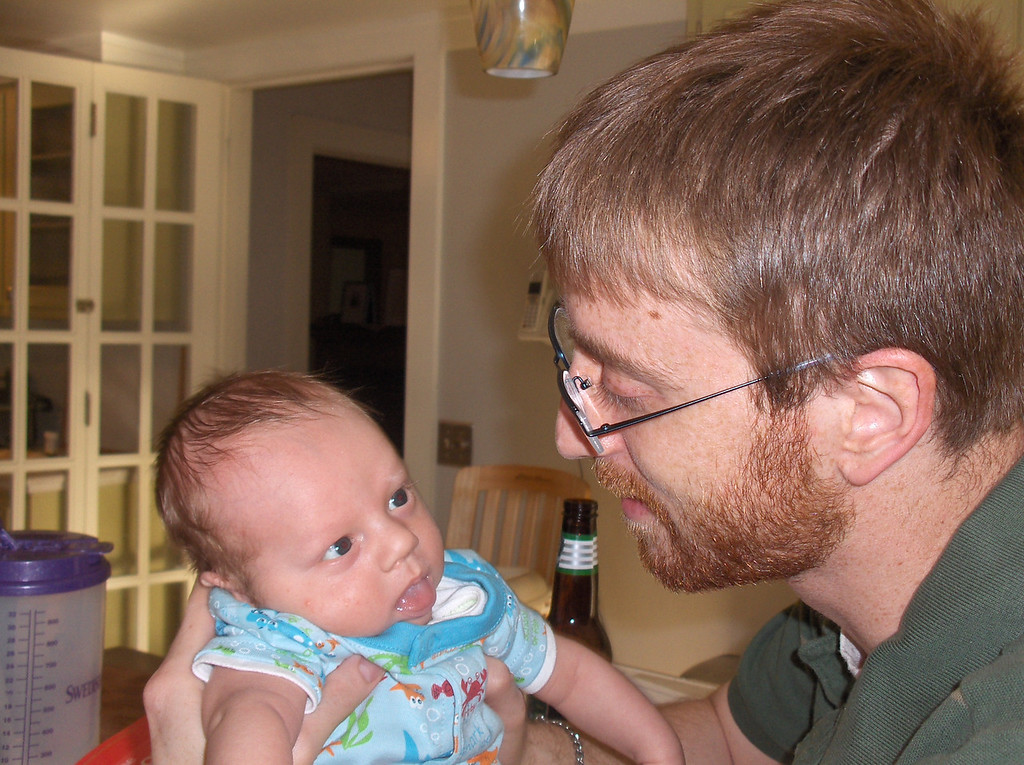 Soren and Josh Swenson, June 2008