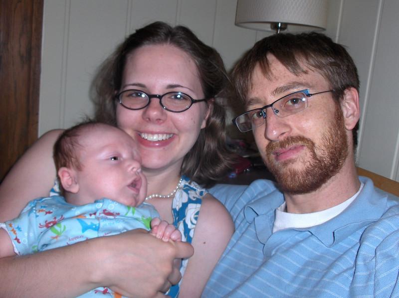 Soren, Jennifer, and Joshua Swenson.  July 2008