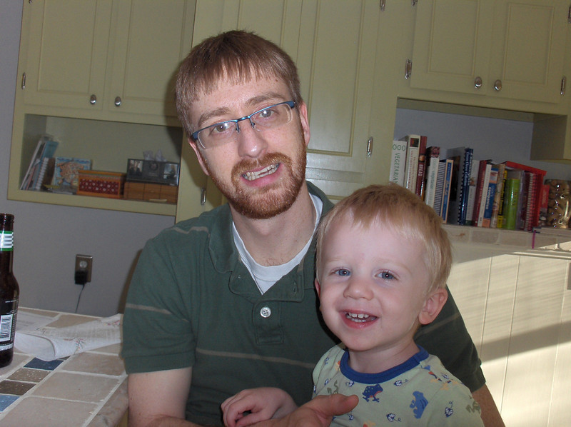 Elliott and Josh Swenson, June 2008