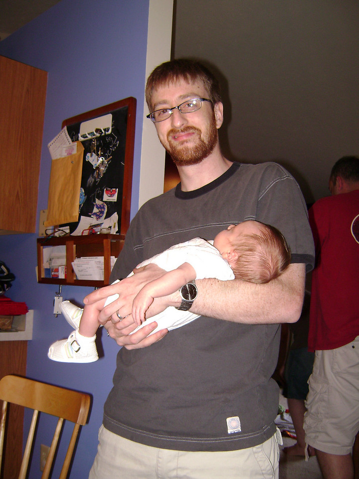 Josh and Soren Swenson when Angel, Darrin, and Lucian visited the Berry's.  May, 2008
