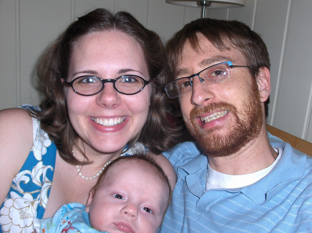 Soren, Jennifer, and Joshua Swenson.  July 2008