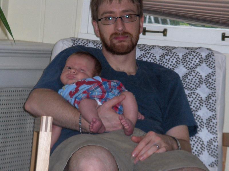 Soren and Josh Swenson, June 2008
