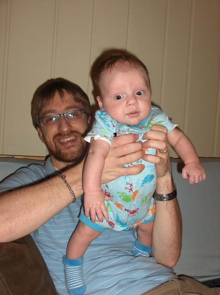 Soren and Joshua Swenson.  July 2008