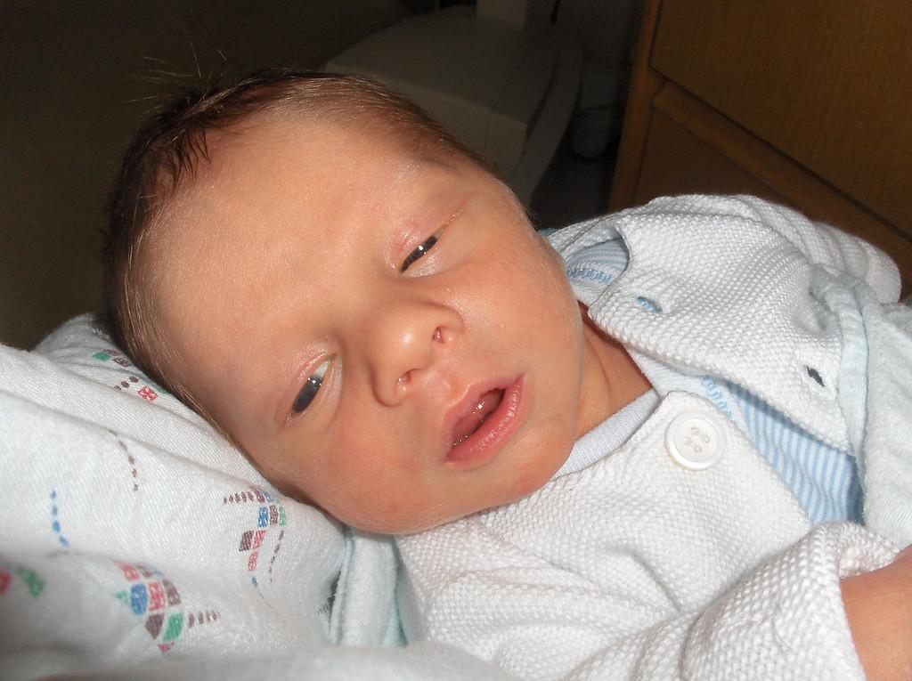 Soren Swenson at the hospital, May 2008