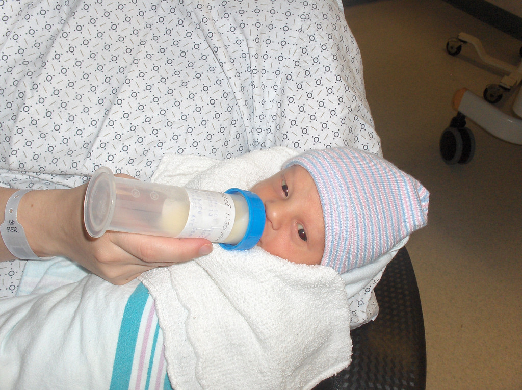 Soren Swenson.  Week 1 at the hospital.  May 2008.