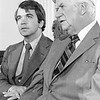 Photograph of Paul E. Tsongas and Tip O'Neill
