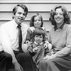 Photograph of Paul E. Tsongas, Nicola and two toddler daughters