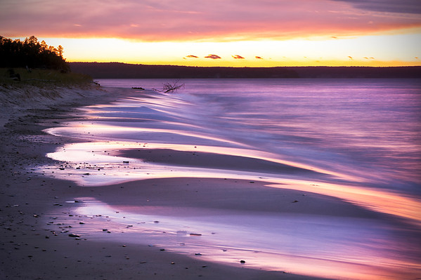 Lake Superior Sunset, Pictured Rocks National Lakeshore, MI