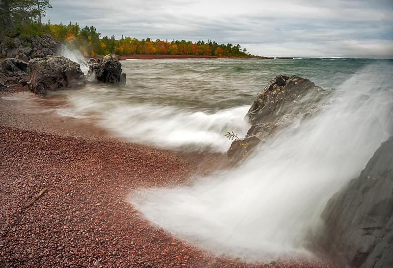 Hunter's Point Park, Lake Superior at Copper Harbor