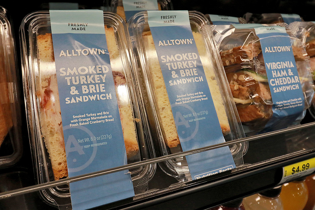 . Ashburnham\'s newly-built Alltown convenience store opened to the public on Thursday, August 23, 2018. They make and sell their own sandwiches. SENTINEL & ENTERPRISE/JOHN LOVE