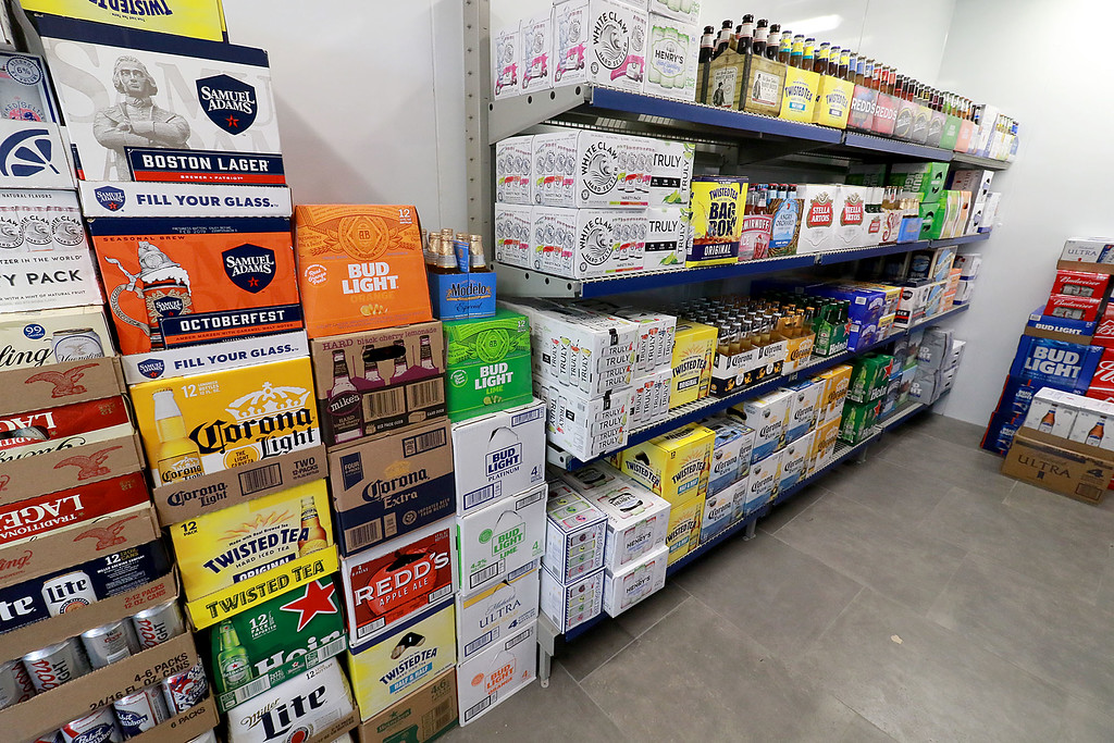 . Ashburnham\'s newly-built Alltown convenience store opened to the public on Thursday, August 23, 2018. They sell beer of all kinds. SENTINEL & ENTERPRISE/JOHN LOVE