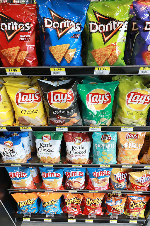 . Ashburnham\'s newly-built Alltown convenience store opened to the public on Thursday, August 23, 2018. They have racks of chips. SENTINEL & ENTERPRISE/JOHN LOVE