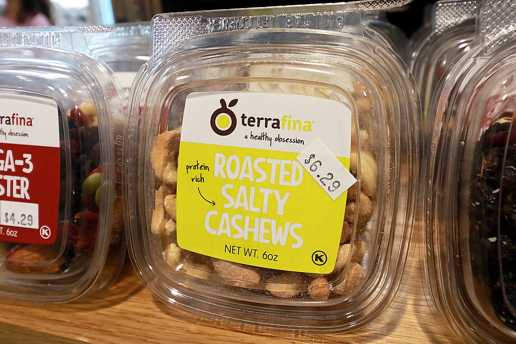 . Ashburnham\'s newly-built Alltown convenience store opened to the public on Thursday, August 23, 2018. They sale roasted salty cashews from terrafina. SENTINEL & ENTERPRISE/JOHN LOVE