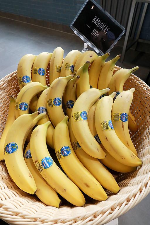. Ashburnham\'s newly-built Alltown convenience store opened to the public on Thursday, August 23, 2018. They sell fresh bananas. SENTINEL & ENTERPRISE/JOHN LOVE