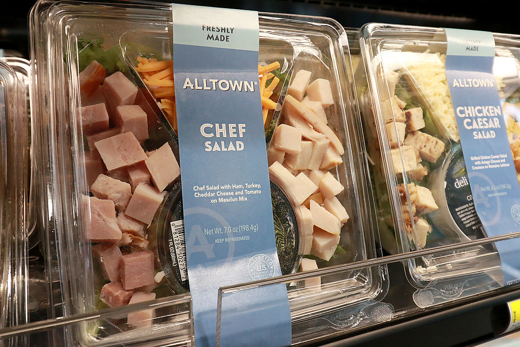 . Ashburnham\'s newly-built Alltown convenience store opened to the public on Thursday, August 23, 2018. They make and sell their own salads. SENTINEL & ENTERPRISE/JOHN LOVE