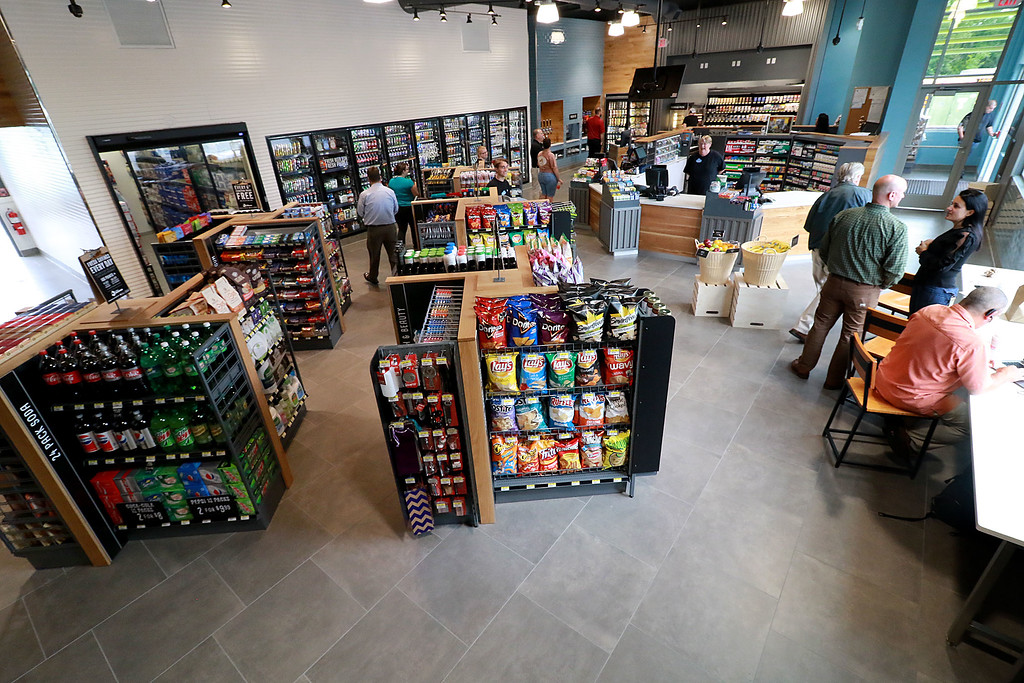 . Ashburnham\'s newly-built Alltown convenience store opened to the public on Thursday, August 23, 2018. SENTINEL & ENTERPRISE/JOHN LOVE