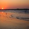 Sunrise on November 8 2009 - Dog walk on second beach, Middletown RI