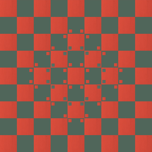 Bulging Checkerboard Illusion 02