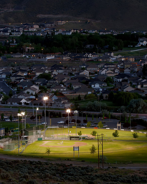 A park in south Richland, Washington
