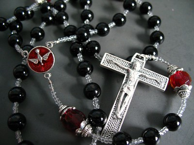 the red and the black rosary