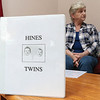A picture of Ralph Whipple Newell, better known as Whip, and his twin sister Margaret Nichols on the cover of a scrape book about the their life and the life the family he found 68 years after being put up for adoption. SENTINEL & ENTERPRISE/JOHN LOVE