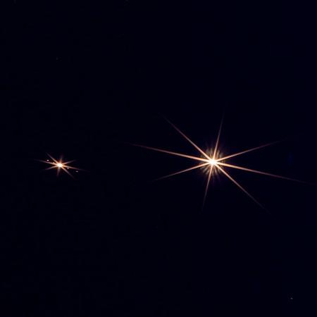 Venus and Jupiter in focus, June 29, 2015