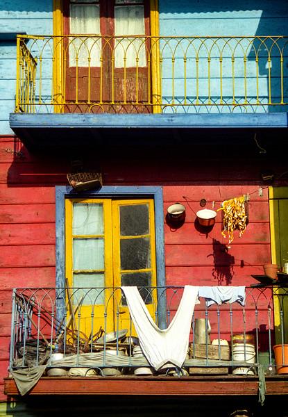 Balcony scene, Buenos Aires, Argentina.