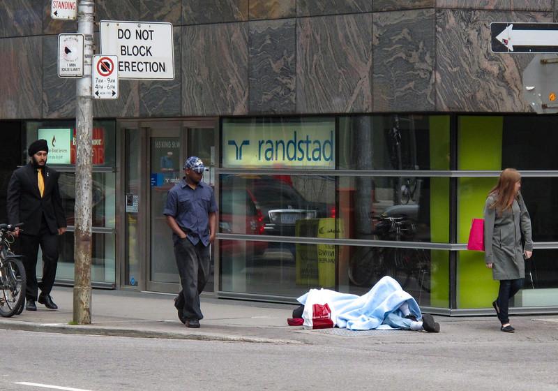 Strange sight in Toronto
