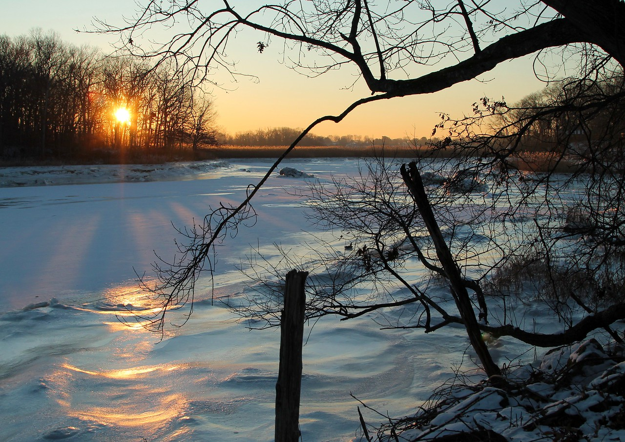 Sunrise Hammonasset River