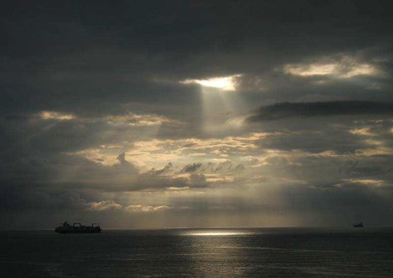 Sunrise - PuertoLimon Costa Rica 1/21/17