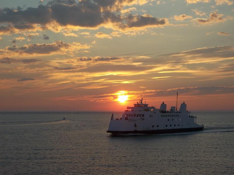 Long Island Sound Ferry to Port Jefferson, LI NY
