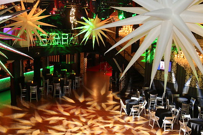 the venue...