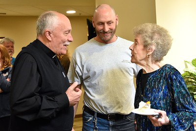 Fr. Tom, Bob and Marlene