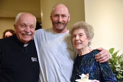 Fr. Tom (SHSST president-rector), Bob and Marlene