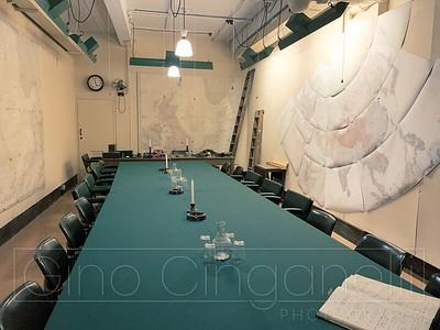 The war rooms