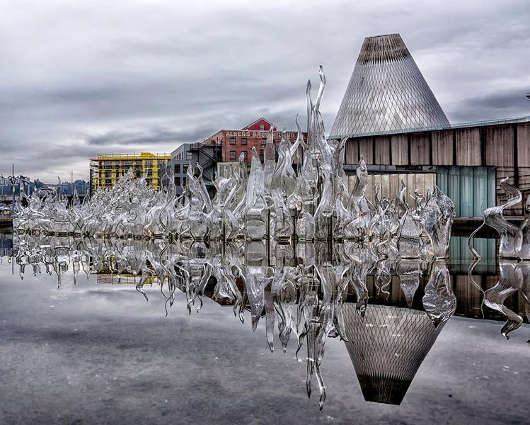 Silver Cone, Tacoma Glass Museum