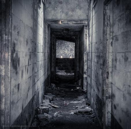 Radar Dome hallway