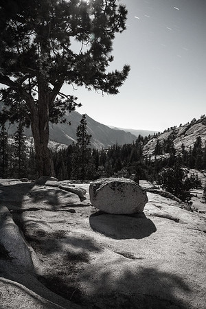 Rock thinking about Half Dome