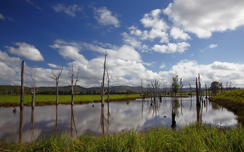Tabulam overflow ponds