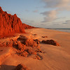 Red cliffs, Cape Leveque road