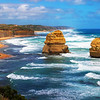 The Twelve Apostles looking east, Victoria